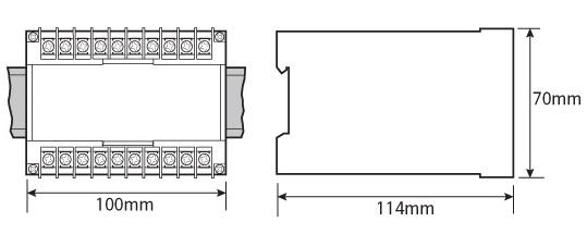 Eclipse Series 3 Phase 3 wire Watt Transducer